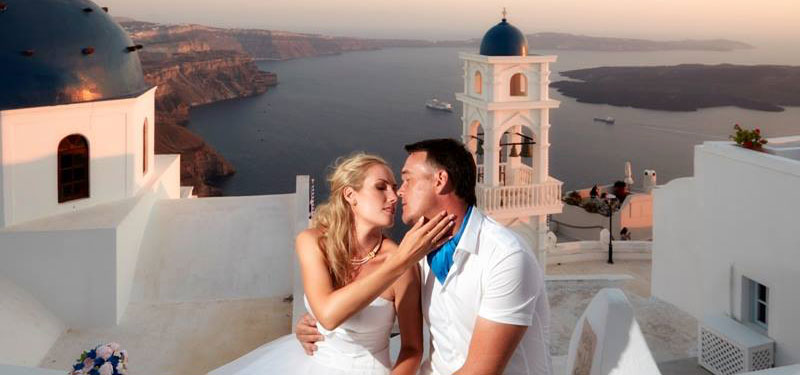 Lov Weddings in Santorini | Santorini island Greece