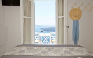Apartments santorini double room with panoramic view