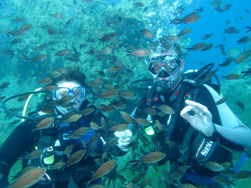 Diving - Apartments | Santorini Island Greece