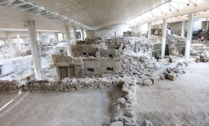 Akrotiri excavations | Santorini Island Greece