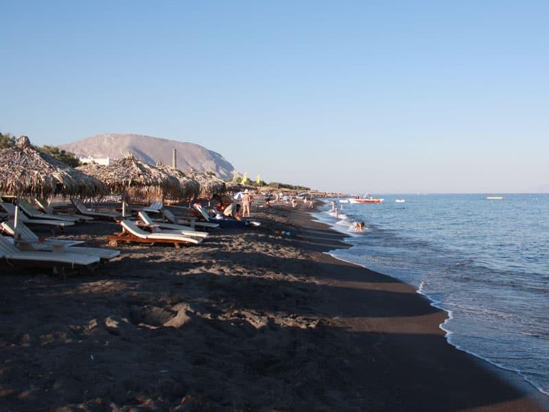 Perivolos beach | Santorini island Greece