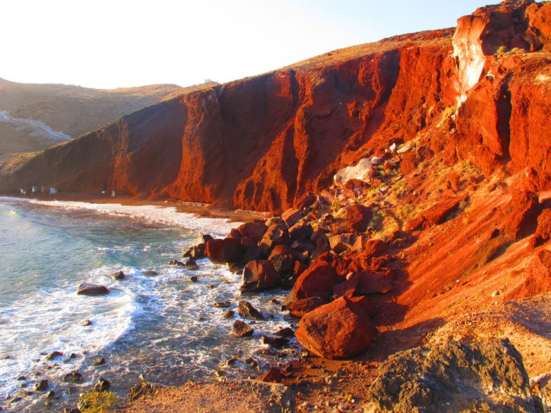 Red Beach | Santorini island Greece