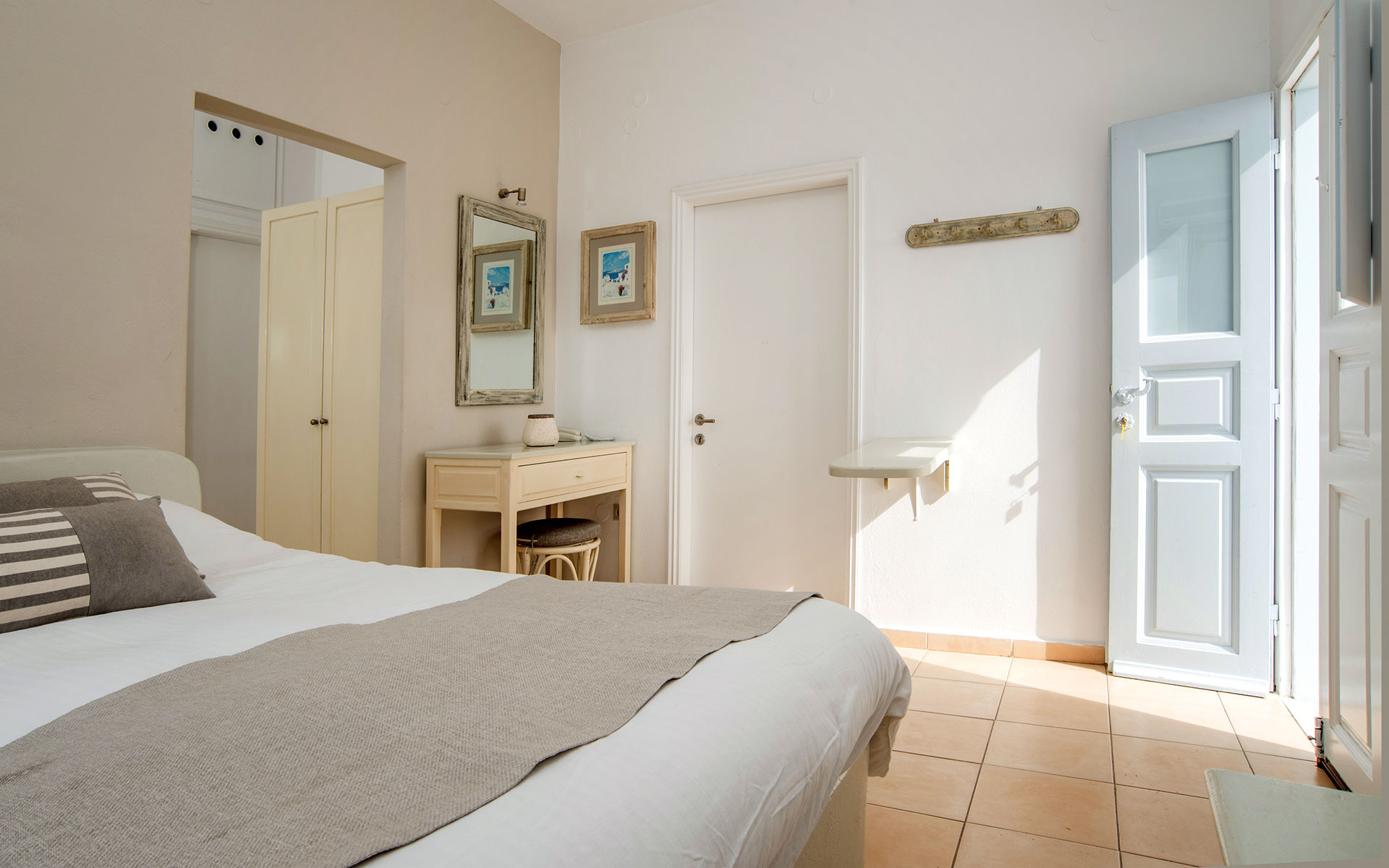 Santorini Family Suite with Private Balcony | Bedroom
