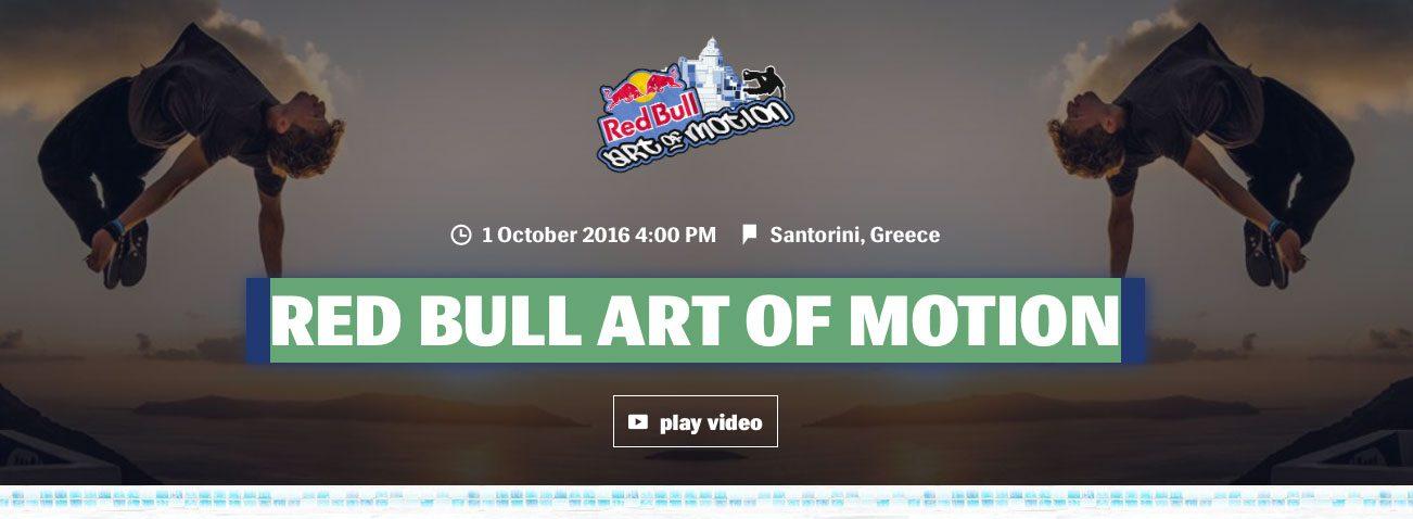 Red Bull Art of Motion | Santorini