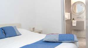 accommodation santorini double room