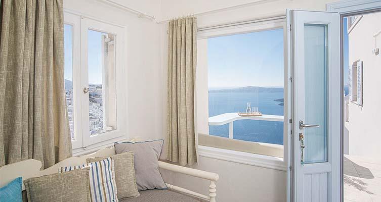 romantic suite santorini bluedolphins a