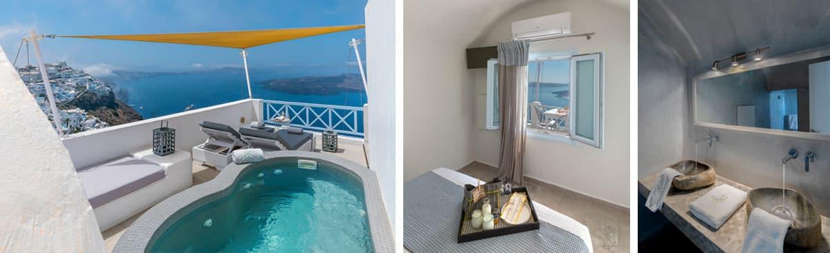 honeymoon jacuzzi suites private balcony h
